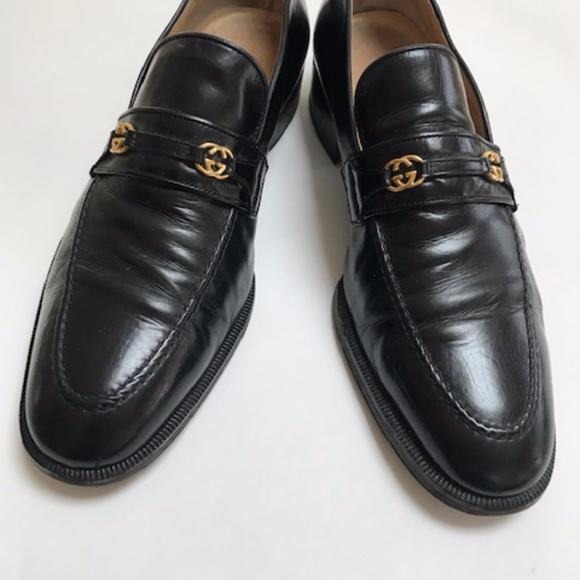 f395adeb2a5 Gucci Other - Men s GUCCI Classic black leather shoes 9